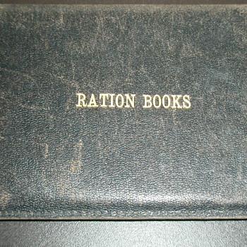 My War Ration Book
