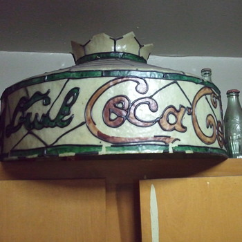 COCA COLA TIFFANY HANGING SHADE - Lamps