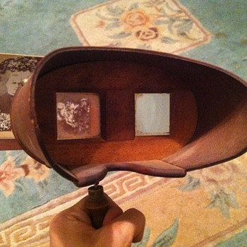 "1896 stereoscope the ""perfectoscope"" - Photographs"