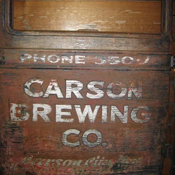 CARSON BREWING OR TAHOE BEER - Breweriana