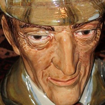 Sherlock Holmes Toby Jug By Royce Wood - Pottery