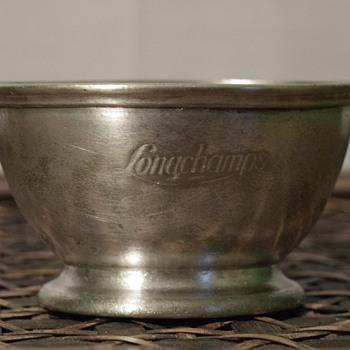 Gorham silver soldered sugar bowl? for Longchamps