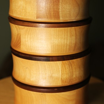 Wooden Salad Bowls by John MCleod Douglas of the Vermont Bowl Co. - Kitchen