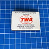 Nice TWA (RtW) matchbox