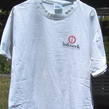 Infoseek t-shirt, circa 1998 - Mens Clothing