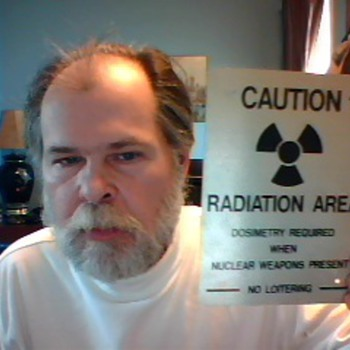 My Nuclear Weapons Warning Sign - Signs