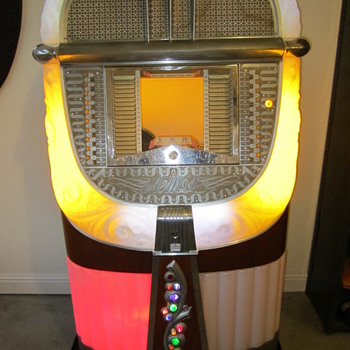 Colorful Jukebox - Any Idea Who the Maker Is? - Music Memorabilia
