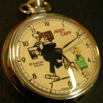 Andy Capp Animated Pocket Watch - Pocket Watches
