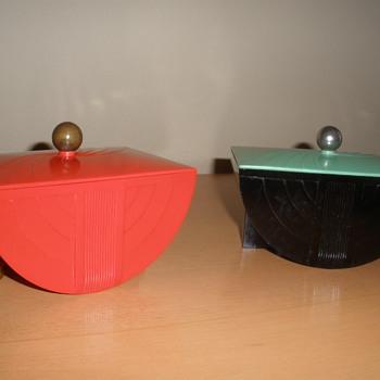 Art Deco Bakelite Boxes