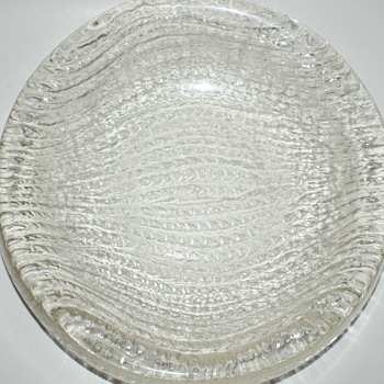 Glass Bowl - Very Heavy - Glassware
