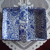 blue & white porcelain serving tray.