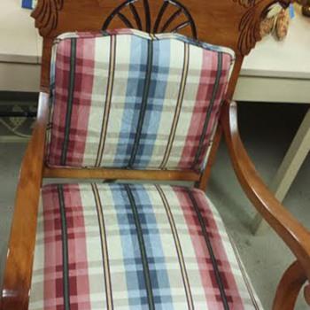 Lions head gentleman's chair - Furniture