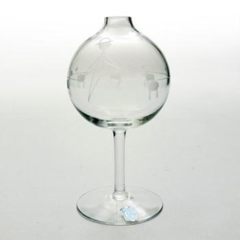 Vase, Bengt Orup (Johanfors, 1950s) - Art Glass