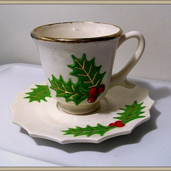 Unknown - CHRISTMAS Teacup & Saucer - Kitchen