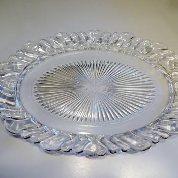 Glass Oval Platter - Glassware