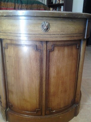 Thomasville Chair Company Drum Table/what Kind Of Wood? | Collectors Weekly