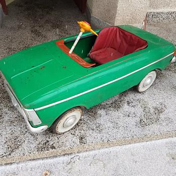 U.S.S.R Moskvich Pedal Car  - Toys