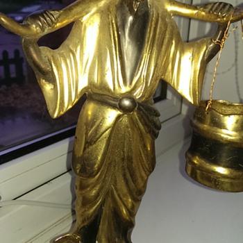 My late Grandads japanese statue - Figurines