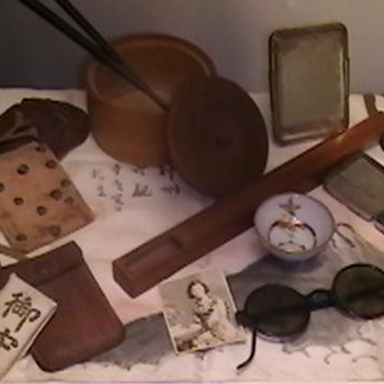 WW II Japanese Soldier's Personal Effects - Military and Wartime