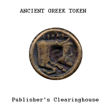 Ancient Greek Token - Replica - US Coins