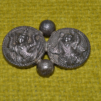 Antique silver brooch - Fine Jewelry