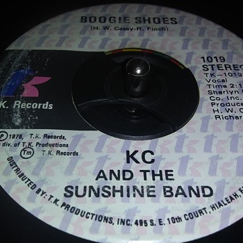 45 RPM SINGLE....#134 - Records