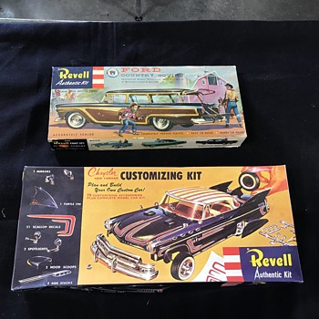 Revell Model cars kits  - Model Cars