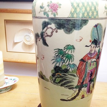ASIAN TABLE LAMP - Asian