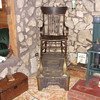 old shoe shine stand