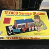 Texaco gas station service station set