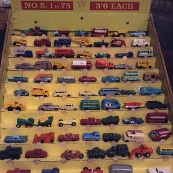 Matchbox  australian shop display 1965  - Model Cars