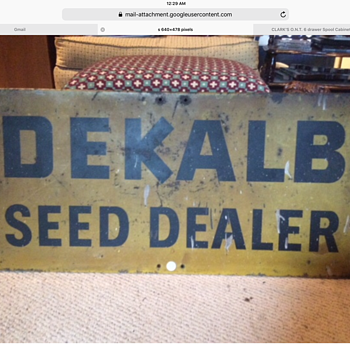 DEKALB Seed Dealer sign - Signs