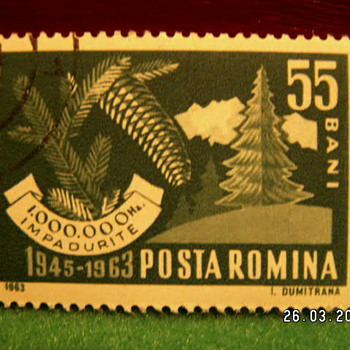 1963 Posta Romina (Romania) Stamp