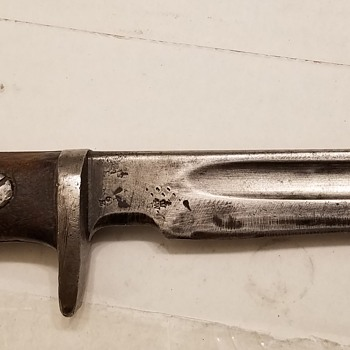 1907 Enfield Bayonet Made into Knife  - Military and Wartime