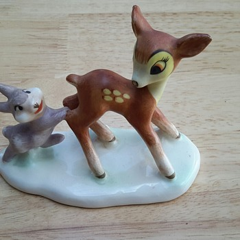 Vintage Goebel Disney Bambi and Thumper figurine - Figurines