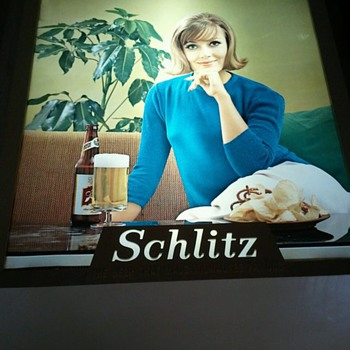 Rare Schlitz Beer Sign - Signs