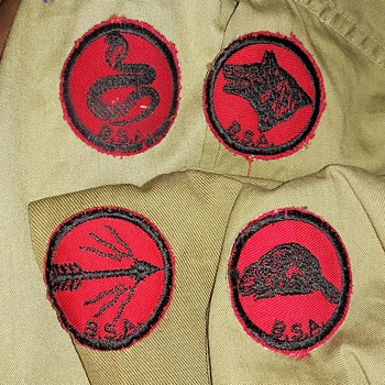 Saturday Evening Scout Post Patrol Patches 1950s to 1979 (ish) - Medals Pins and Badges