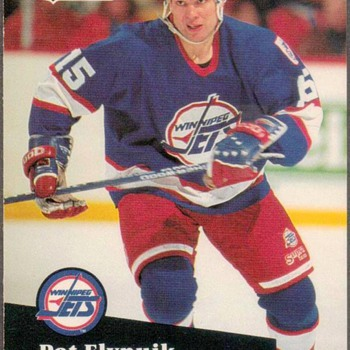 1991 - Hockey Cards (Winnipeg Jets) - Hockey
