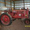 1938 Farmall F 20 tractor