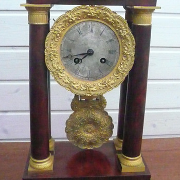 my  columns french clock - Clocks