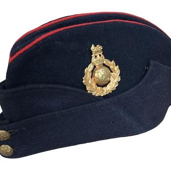 84a6625045d Second World War Royal Marine s side hat.