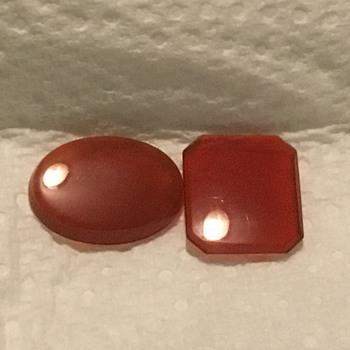 Carnelian stones  - Gemstones