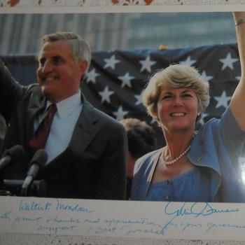Walter Mondale and Geraldine Ferraro - Posters and Prints