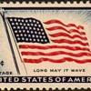 "1957 - ""Old Glory"" Postage Stamp (US)"