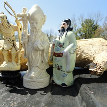 Chinese Or Japanese Figures ? - Asian