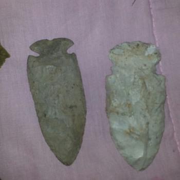 Arrowheads found in gaffney sc