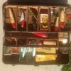 Antique Fishing Lures, Heddon, South Bend, Fred Arbogast