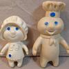 Pillsberry dough boy and girl