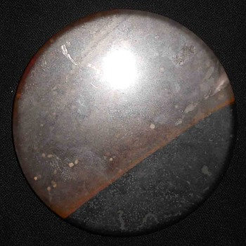 Round Chalcedony with 100 % Original Natural Image of a Tornado Rare Agate - Gemstones