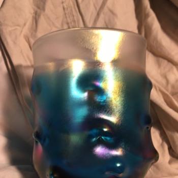 Pretty Glasses - look like beach glass no markings - Glassware